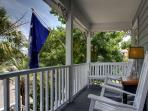 Front porch with rocking chairs to enjoy!