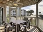 Wonderful Screen Porch, with Dining for Four