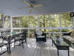 Wonderful Screened In Porch, A Second Living Room!