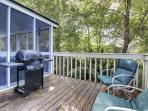 Open Deck with Gas Grill, Just Perfect!