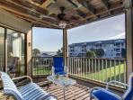 Wonderful Screened Porch Overlooking Pool/Beach!