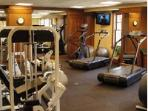Workout in the fully equipped gym with the latest equipment and weights then enjoy the sauna.