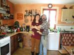 la cuisine de Yann avec Carline