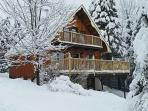 Notch Chalet in winter