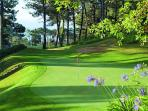 Palheiro Golf - near the house - is ideal for those who enjoy golf .