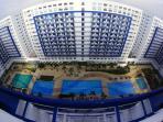 Top view of Sea Residences Condominium