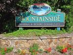 Mountainside Sign