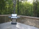 Deck with Propane BBQ