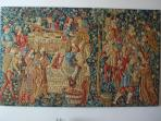tapestry  in the room