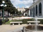 Visit World Famous Bath House Row in Downtown Hot Springs