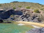One of the best beaches in Spain, Calblanque