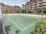 Basketball Court at far end of our condominiums (no noise pollution!)...
