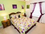 Bedroom 2 Queen bed (UK King)