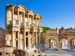 The antique city of Ephesus within 45 min drive