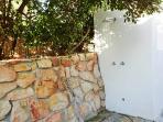 Outdoor Shower & Powder Room