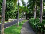 2 1/2 acres of tropical gardens