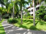 Oasis at Palm Cove showing secluded private balconies in a natural tropical setting