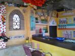 Villa's themed bar why not play at being the barman/lady for the night 'Get out of my pub!'