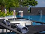 Villa Zamani Sun Beds In Pool