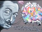 Partez à la découverte des œuvres du graffeur local Moze.