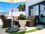 Swan suite terrace