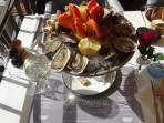 Seafood at Café Valmer
