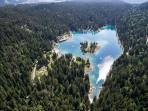 Cauma-Lake: Great swimming!!! (free with a visitor's card; at Laax information center).