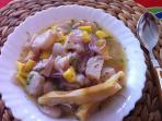 Ceviche . speciality of the house