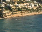 Stunning coastline of El Portet