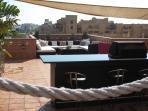 Beautiful private terrace