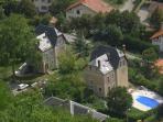 Vue aérienne des Villas d'Onost