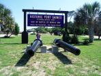 All the way to the West side of Dauphin Island is Historic Fort Gains. Check the calendar for events