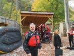 Get ready to raft or kayak on the Nantahala River