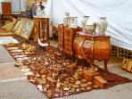 antique market at the fairgrounds. Every Saturday