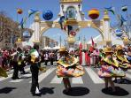 Peoples Fairat at the fairgrounds , from April 28 to May 2
