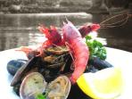 fine seafood dining - Xlendi