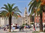 Riva, St. Frane, Split