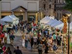 Why not wander down to the Rocks markets (a 5 minute stroll) held every Saturday and Sunday