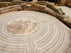 Mosaic floors found in Paphos historical area