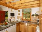 Self-catering cottage in South Pembrokeshire - kitchen area