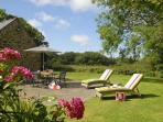 Pembrokeshire restored holiday cottage with large gardens - dogs welcome