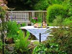 Betws y Coed holiday cottage - garden