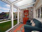 Holiday cottage conservatory