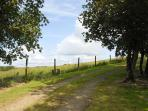 Dale Peninsula holiday home with large garden and countryside views