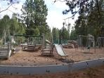 One of many play and recreation areas...
