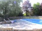 The fully fenced Pool