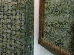 Bathroom with shower in bedroom 2