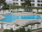 The Gulf front pool.