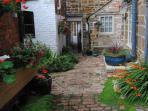 Courtyard in August