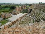 the ancient theatre of the historical city of Nikopolis(2.5km from the apartment)